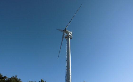 信夫山西の郷小風力発電所